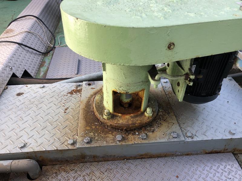 更新前の攪拌機