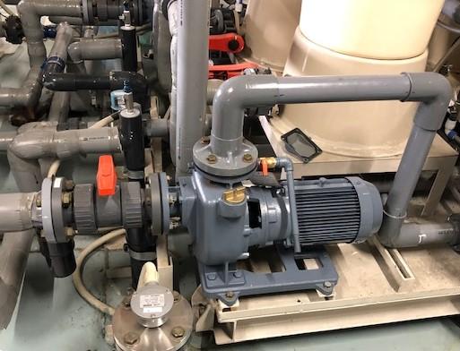 浄水ポンプ更新入替工事